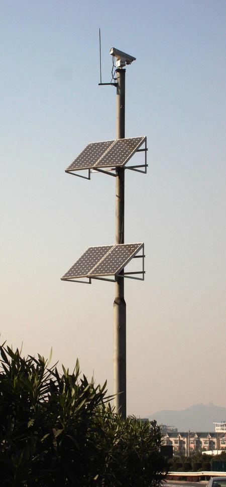 潍坊哪家太阳能监控杆直销 山东图景照明工程供应