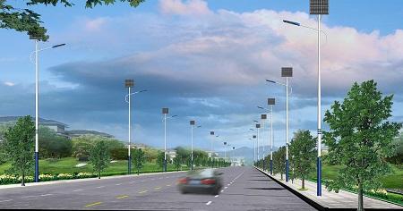 甘肃通用太阳能路灯销售 山东图景照明工程供应