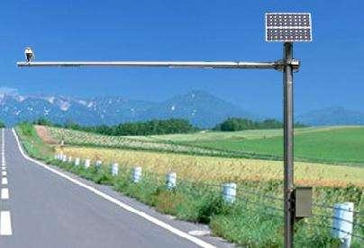 淄博小型太阳能监控杆报价 山东图景照明工程供应