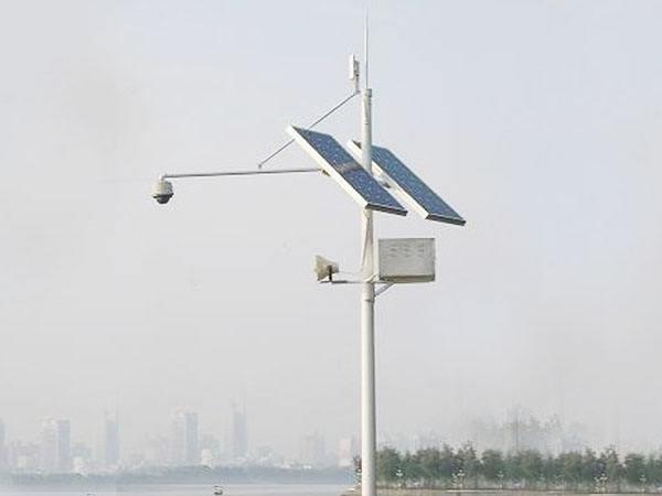 德州智能太阳能监控杆 山东图景照明工程供应