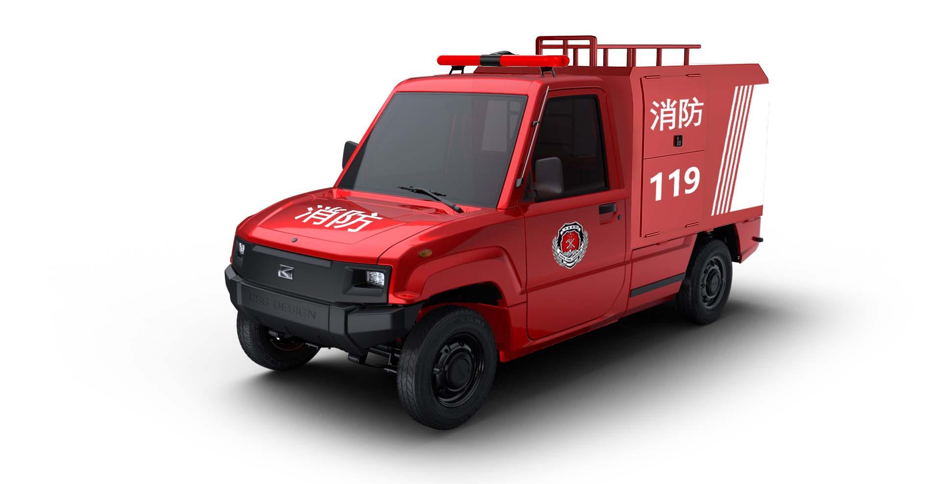 石家庄电动消防车制造商,消防车