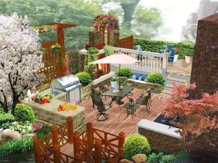 建造私家花园哪家好「植物城堡供应」图片