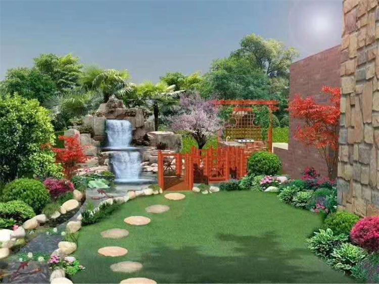 郑州别墅花园设计企业 欢迎咨询「植物城堡供应」