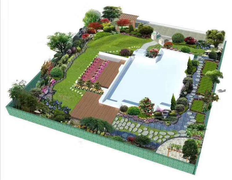 郑州造花园哪家好「植物城堡供应」图片