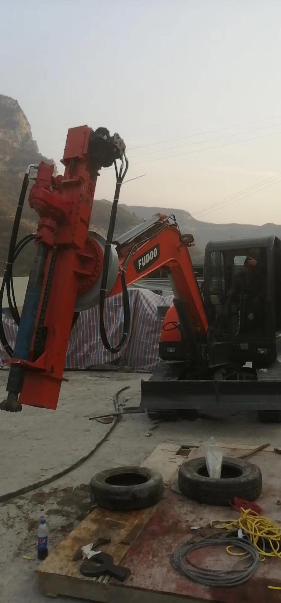 昆明挖机改钻机费用 和谐共赢 昆明悍之骏工程机械供应
