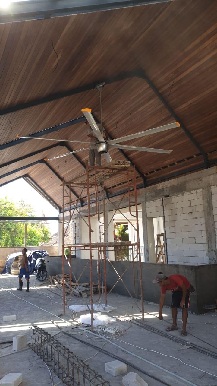 吉林食堂商业节能吊扇直流大风扇大直径吊扇 诚信为本 上海爱朴环保科技供应