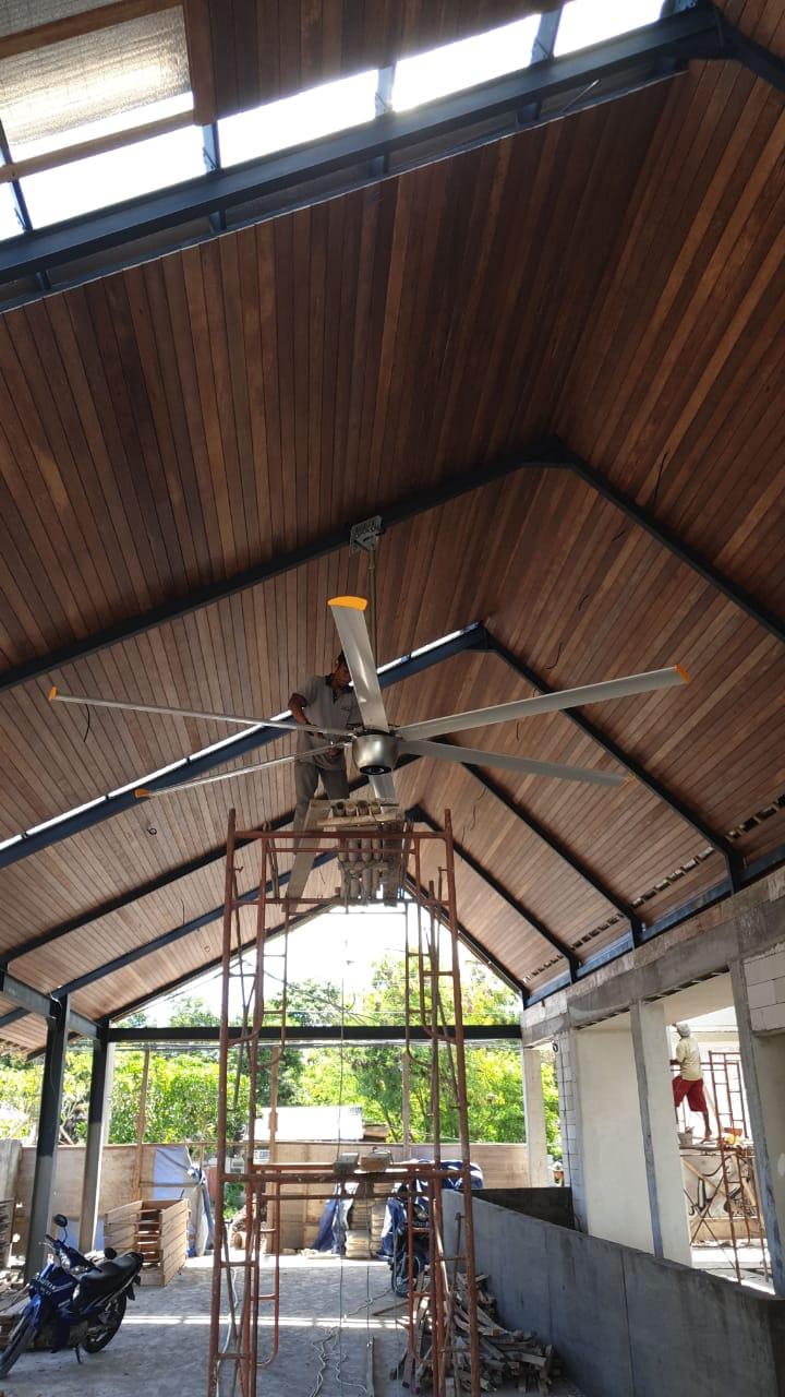安徽工厂大型通风扇直流大风扇节能环保 创造辉煌 上海爱朴环保科技供应