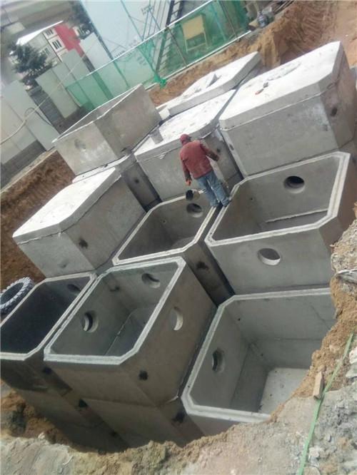 安阳市预制组合式钢筋混凝土化粪池价格 来电咨询 郑州盛彩建筑材料供应