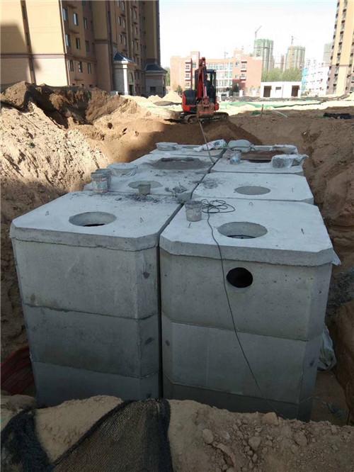 开封钢筋混凝土整体化粪池生产厂家 欢迎咨询 郑州盛彩建筑材料供应