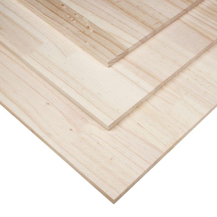 山东橡胶木集成材经销商 临沂市兰山区百信木业板材供应