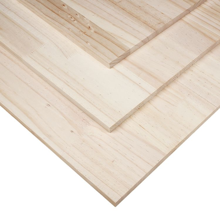 山东橡胶木指接板经销商 临沂市兰山区百信木业板材供应