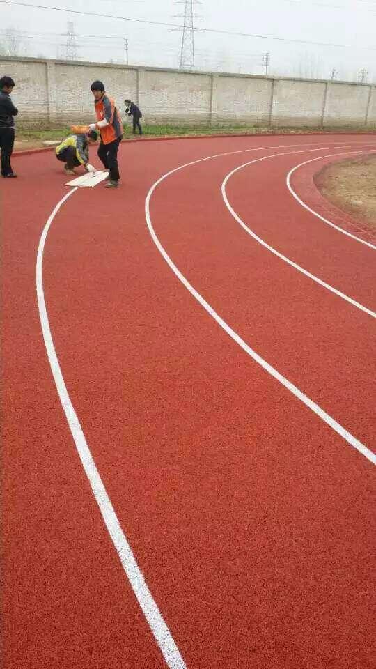 盐城小区塑胶跑道运动场,塑胶跑道