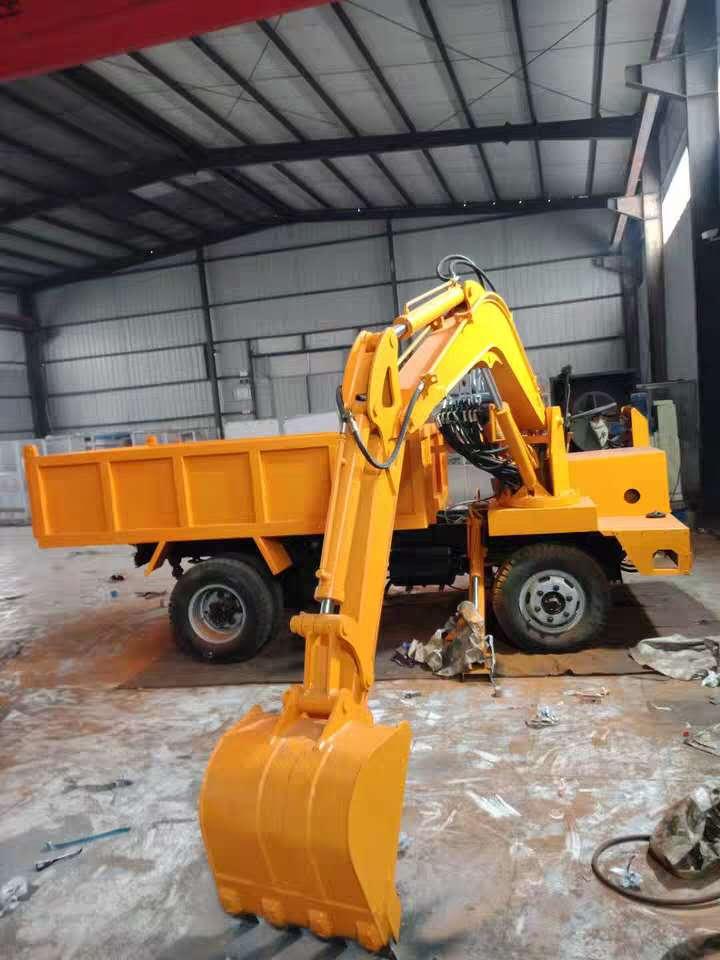 安徽8吨随车挖带抓木机抓木机,抓木机