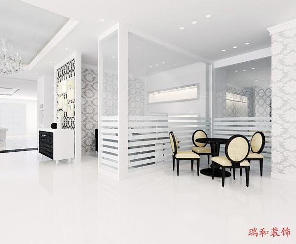 淄川區展廳裝修設計「淄博瑞和定制」
