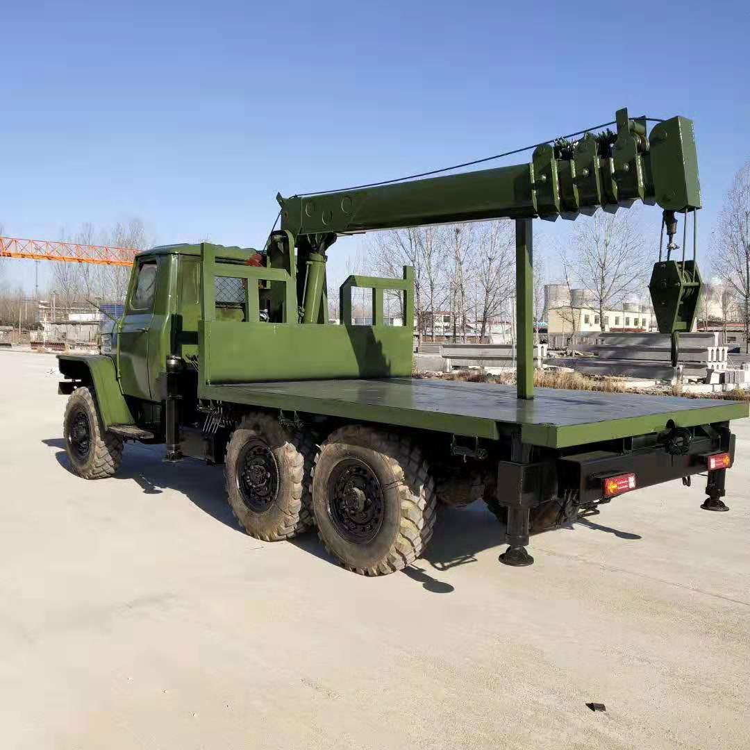 安徽小型橡胶六驱随车吊 值得信赖 济宁市恒泰源工程机械供应