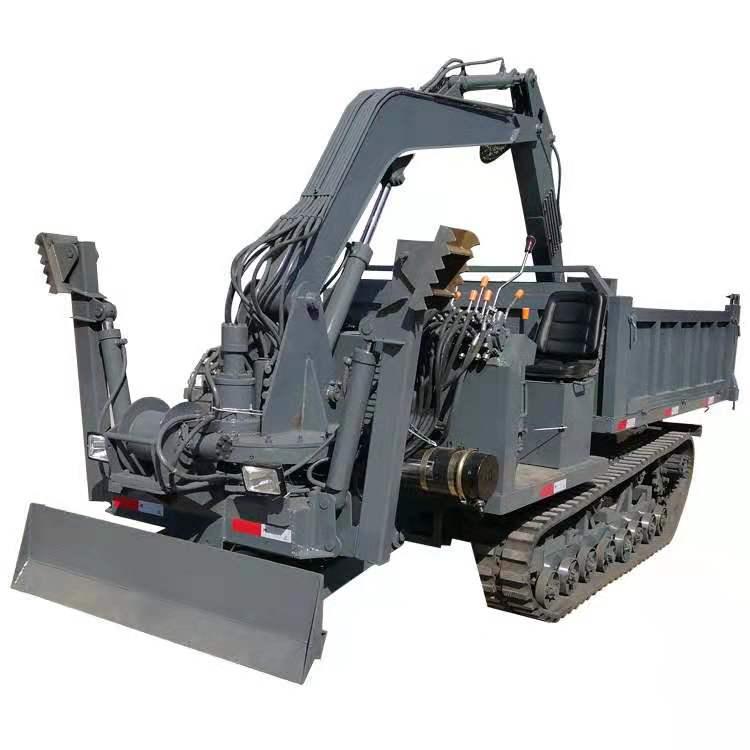 重庆果园挖坑用履带随车挖 服务至上 济宁市恒泰源工程机械供应