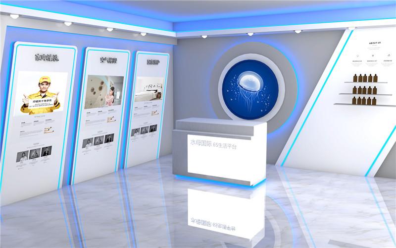 港闸区企业展厅设计创意,展厅设计