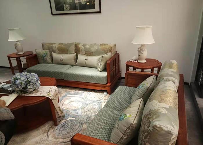 青岛实木沙发,沙发