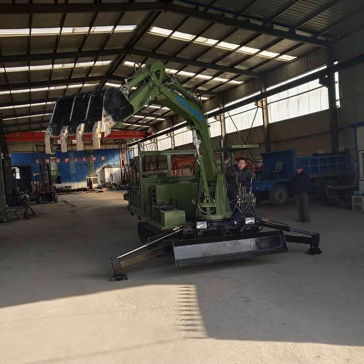 安徽上山拉木头履带抓木机载重量大 济宁久征工程机械供应