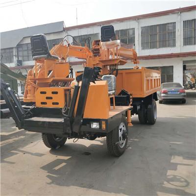 江西白事专用6吨吊挖一体车优质低价 济宁久征工程机械供应