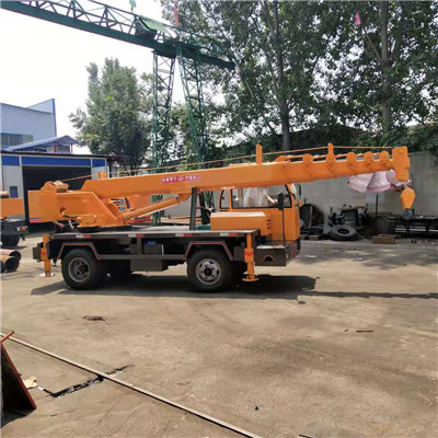 河南油电两用6吨变形金刚自制吊 济宁久征工程机械供应