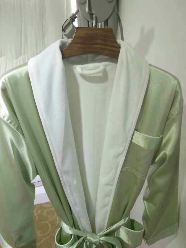 山东定制浴袍价格行情「上海笃为纺织品供应」