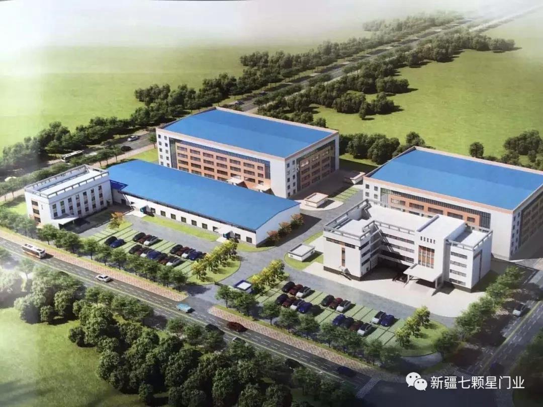 吐鲁番钢制厂房大门要多少钱「七颗星门业供应」