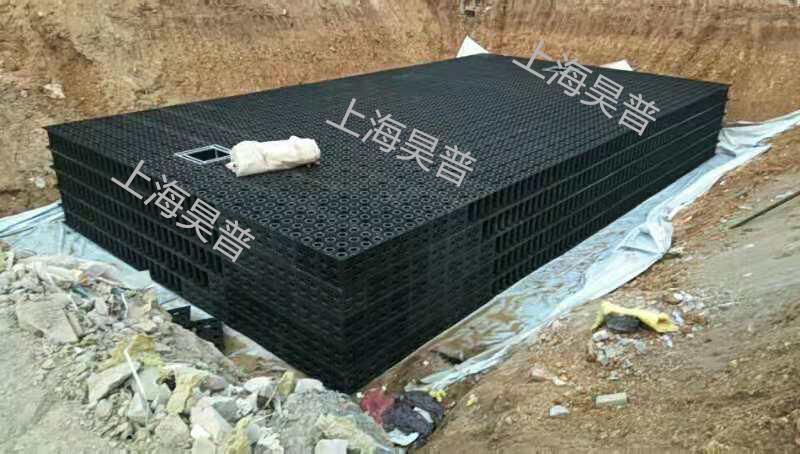 湖北小区雨水回收利用模块装置,雨水回收利用