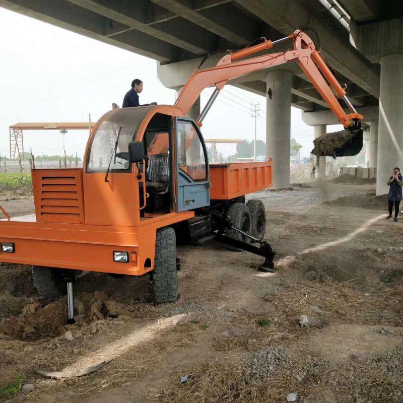 湖北挖沙挖土随车挖欢迎来电 欢迎咨询 济宁力征工程机械供应