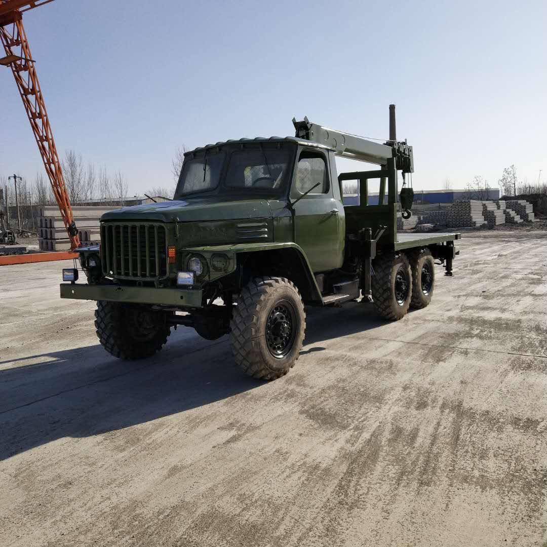 黑龙江销售六驱随车吊 济宁力征工程机械供应