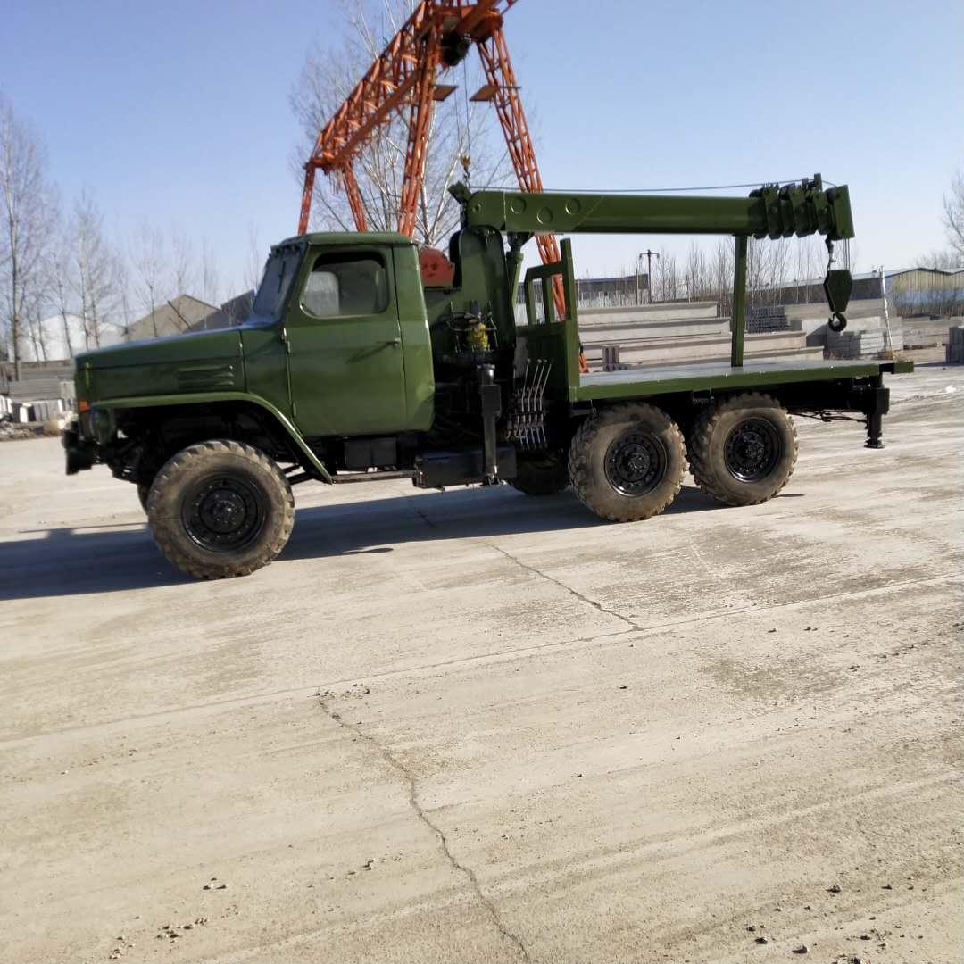 辽宁动力足马力大六驱随车吊欢迎来电 济宁力征工程机械供应