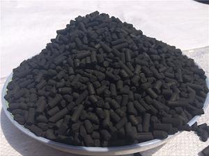 上海口碑好柱状活性炭 苏州绿森活性炭供应
