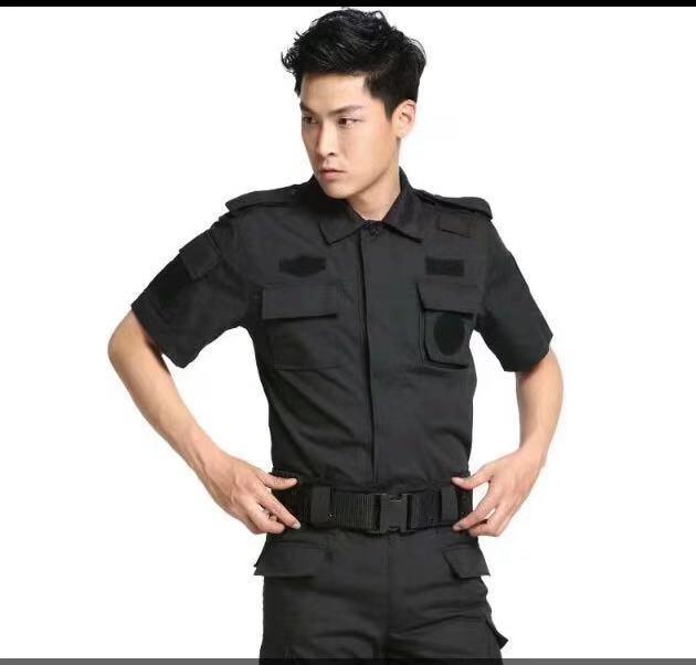 江苏正规保安服装定制,保安服装