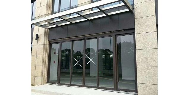 洛阳钢化玻璃电动门性价比高,电动门