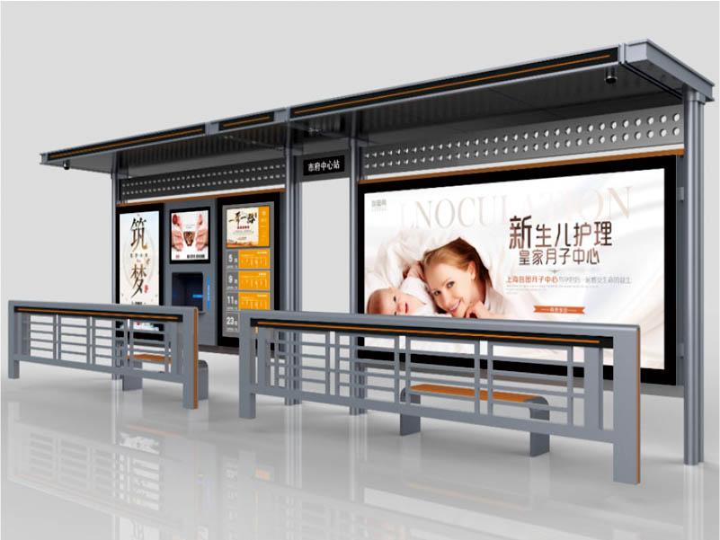 青海智能电子站牌广告「四川蓉城合丰科技供应」