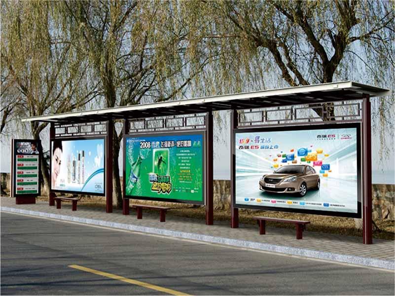 湖北电子公交车站牌厂家,公交车站牌