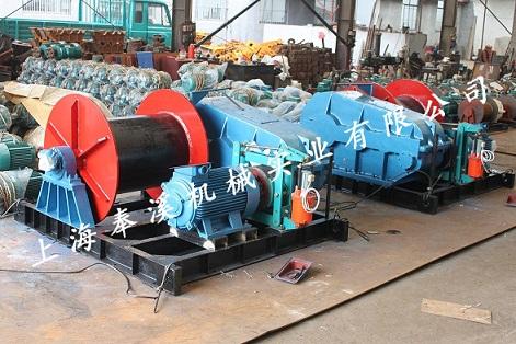 上海卷扬机源头直供厂家 来电咨询 上海奉溪机械实业供应
