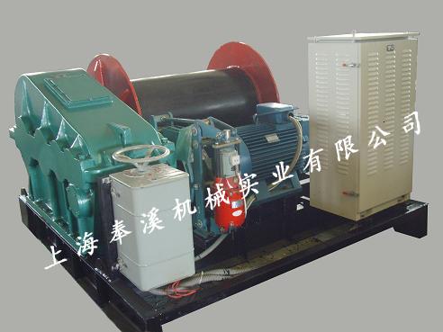 山东电控卷扬机厂家直供 创新服务 上海奉溪机械实业供应