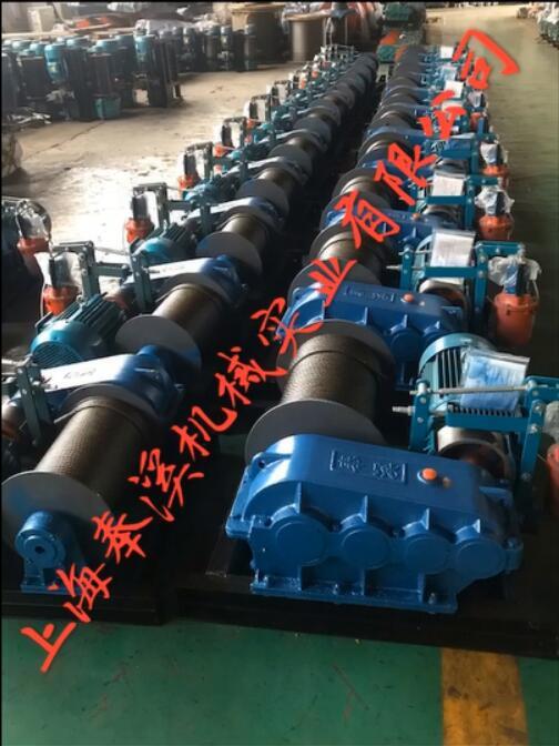 上海卷扬机来电咨询 承诺守信 上海奉溪机械实业供应