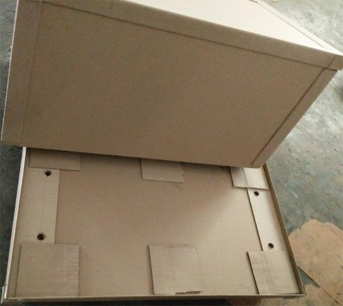 嘉兴生产纸托箱厂家直供「上海申胜板业供应」
