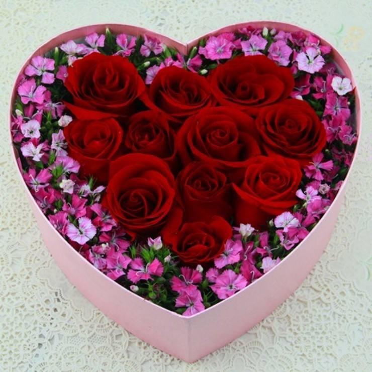 蚌埠鲜花礼盒生日鲜花礼盒送上门,生日鲜花礼盒