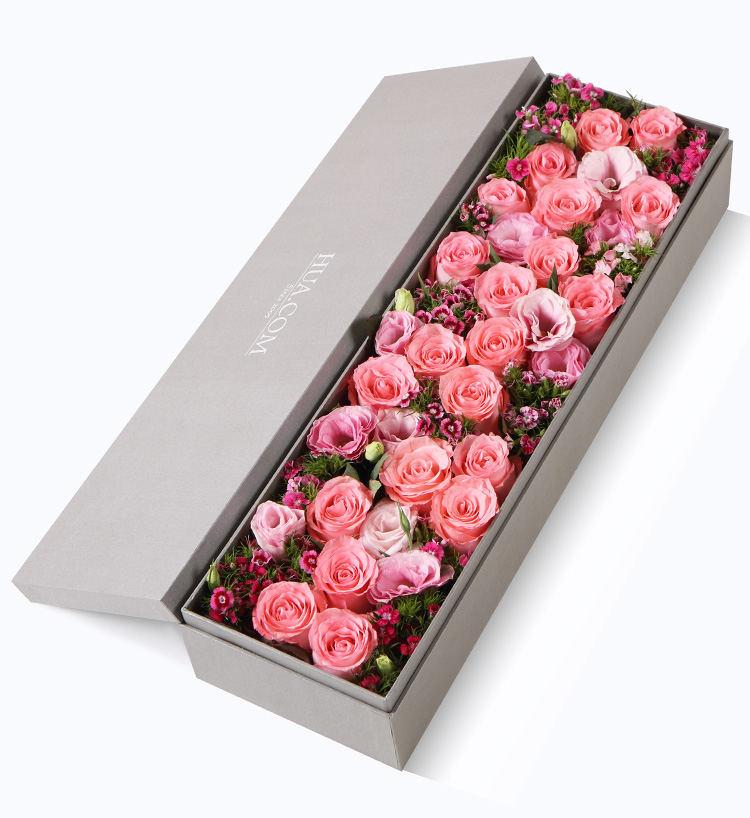 淮南鲜花礼盒生日鲜花实体配送,生日鲜花