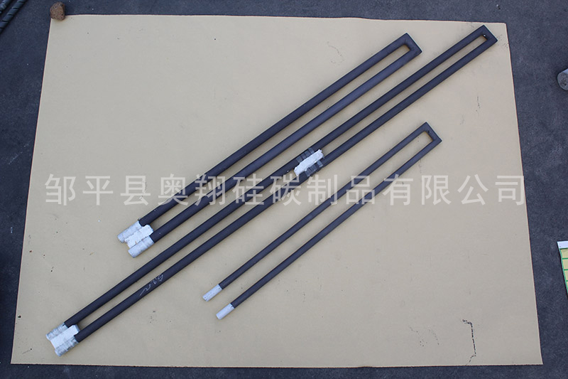 哈尔滨枪型硅碳棒电阻 邹平奥翔硅碳供应
