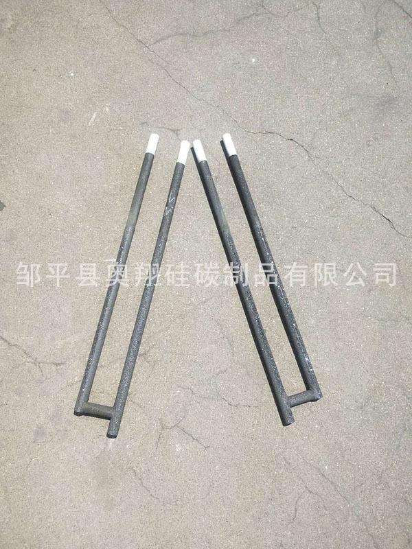 甘肃螺纹硅碳棒电阻 邹平奥翔硅碳供应