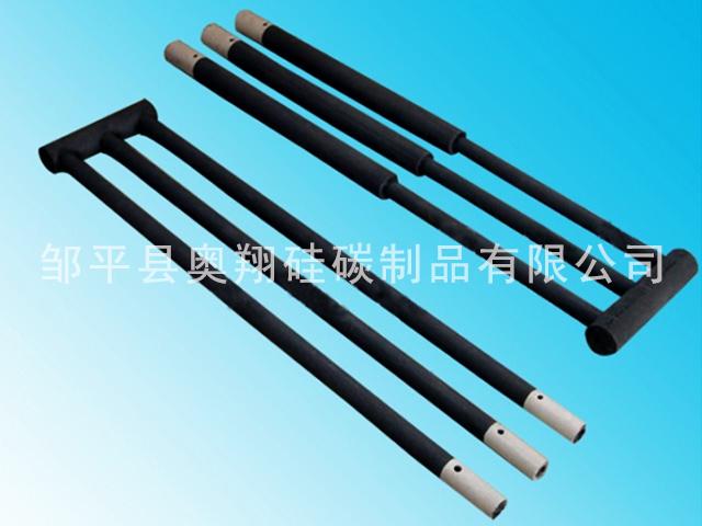 甘肃直角硅碳棒厂家直销 邹平奥翔硅碳供应