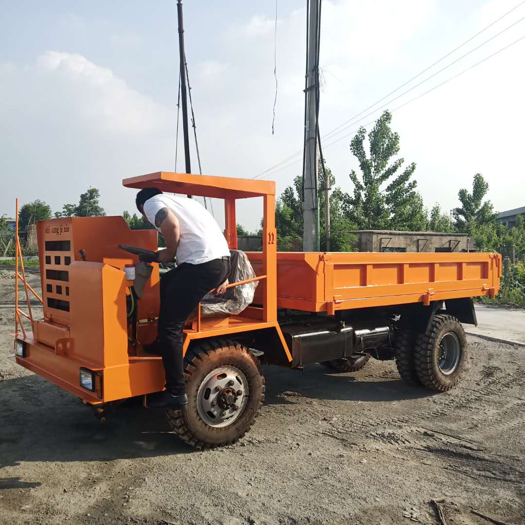 云南低矮窄型运输车矿用四不像车 值得信赖 济宁市恒泰源工程机械供应