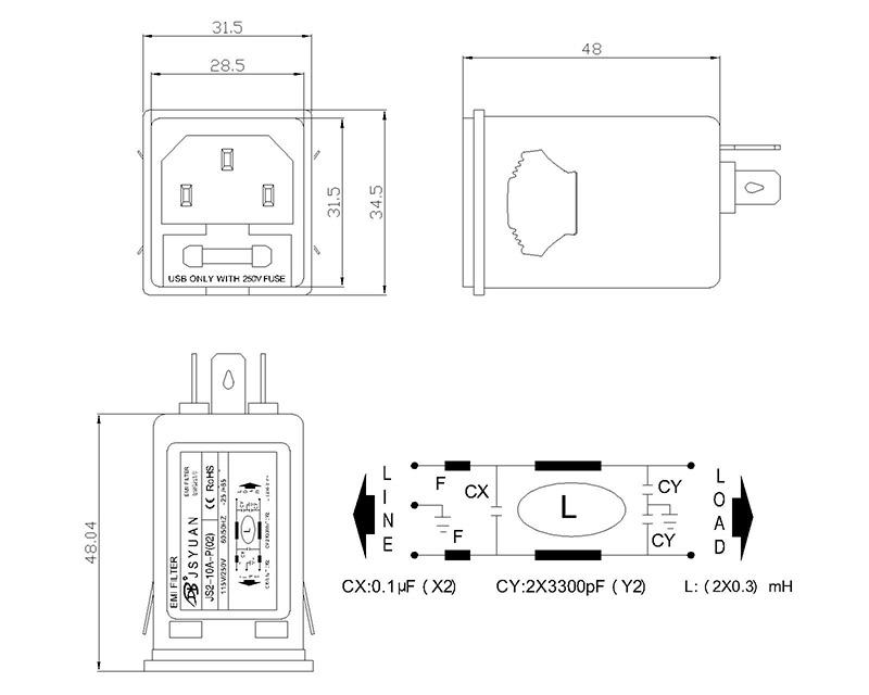 珠海大功率滤波器厂『家「内江鑫pk10五码在线计划网杰斯电子科技供应」