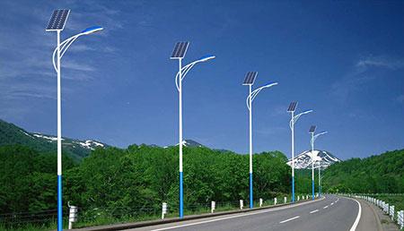 甘肃LED太阳能路灯供应 山东图景照明工程供应