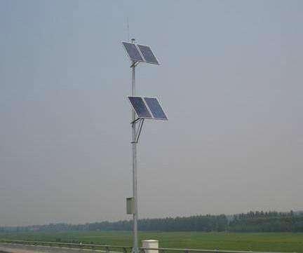 山东专业太阳能监控杆安装 山东图景照明工程供应