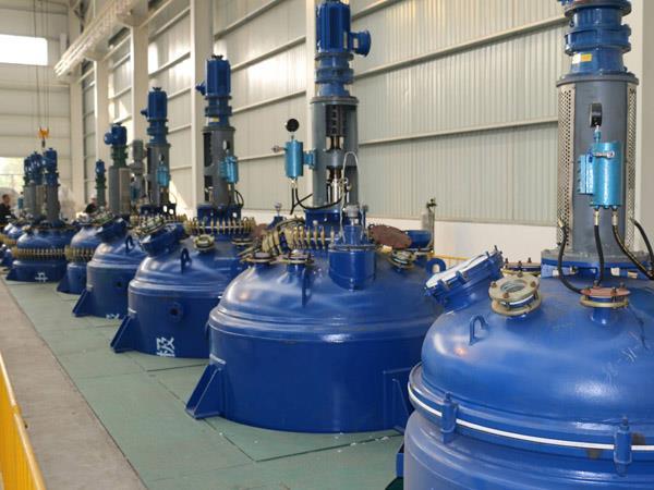 哈爾濱3000L搪玻璃反應釜標準 山東浩通機械